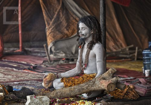 Isabelle Redemption how to meditate for real Kumbh Mela Sadhu